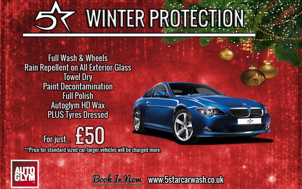 Winter Protection 5 Star Car Wash
